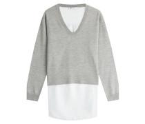Pullover im Patchwork-Look