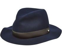 Faltbarer Fedora-Hut aus Wolle