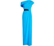 One Shoulder Dress aus Seide