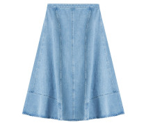 Flared-Skirt aus Denim