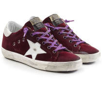 Sneakers Super Star aus Samt