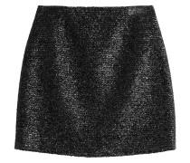 Mini-Skirt im Metallic-Look