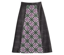 Midi-Skirt mit Pailletten