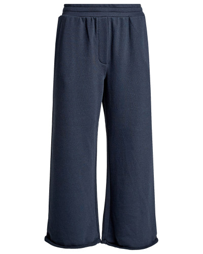 Cropped Wide Leg Pants mit Baumwolle