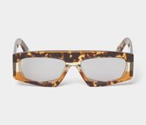 Brille im Schildpatt-Look