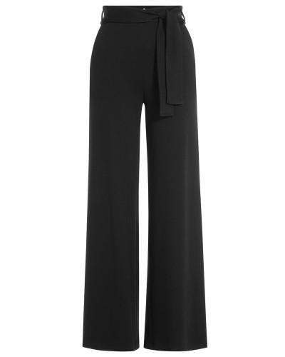 Wide-Leg-Pants aus Jersey