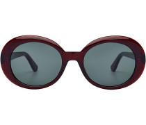 Sonnenbrille California mit oversized Rahmen