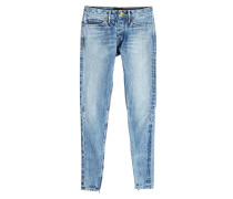 Slim Leg Jeans mit Zippern