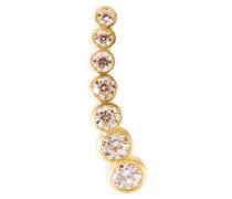 Earcuff Petite Croissant de Lune aus 18kt Gold mit Diamanten