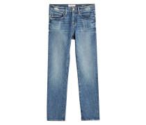 Straight Leg Jeans Le Boy aus Baumwolle