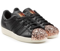 Leder-Sneakers Superstar 80s