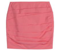 Drape Skirt aus Baumwoll-Stretch