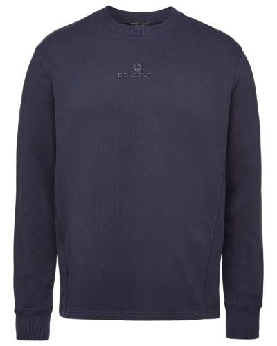 Besticktes Sweatshirt Reydon aus Baumwolle