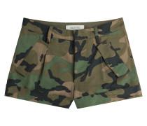Valentino Cash & Rocket Baumwoll-Shorts mit Nietenherz