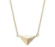 Halskette Pyramid aus 18kt Gelbgold
