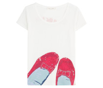 Print-Shirt Ruby Red Shoes aus Baumwolle