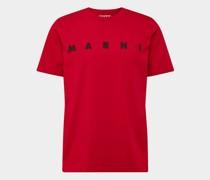 T-Shirt mit Brand-Detail