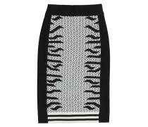 Strickrock aus Wolle mit Muster