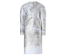 Silk Blend Duson Dress in Maria Beetle