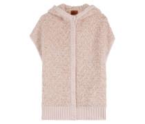 Oversize-Weste aus Wolle und Mohair