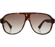 Sonnenbrille im Schildpatt-Look