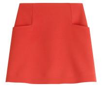 Mini-Skirt aus Krepp