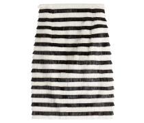 Gestreifter Fransen-Skirt