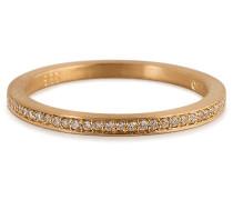 Ring Rue de Diamant aus 18kt Gelbgold mit Diamanten