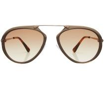 Aviator-Sonnenbrille Aaron mit Metallbügel