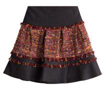 Bestickter Mini-Skirt Keely mit Fransen