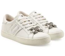 Sneakers Empire aus Leder mit Décor