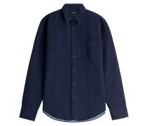 Chambray-Hemd aus Baumwolle