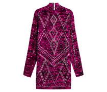 Kleid mit Print und Décor
