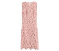Kleid mit Häkelspitze