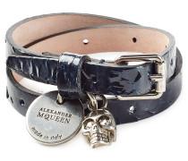 Armband aus Lackleder mit Anhänger