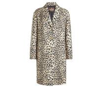 Bedruckter Mantel aus Schurwolle