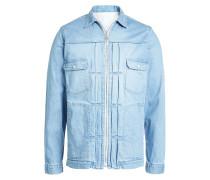 Jeansjacke mit Zipper