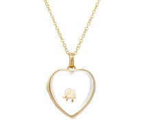 Kette Heart Locket aus 14kt Gold