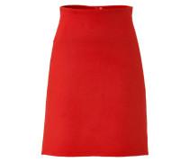 A-Line-Skirt aus Angora und Wolle