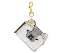Schlüsselanhänger Husky aus beschichtetem Leder