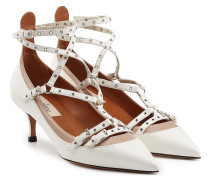 Kitten-Heel-Pumps Love Latch aus Leder