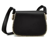 Bestickte Handtasche aus Lamm-Nappaleder