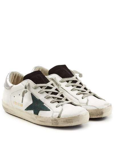 golden goose damen sneakers super star aus leder reduziert. Black Bedroom Furniture Sets. Home Design Ideas