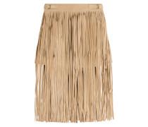 Fransen-Shorts aus Veloursleder