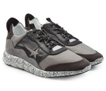 Sneakers Haus Edge aus Leder und Textil