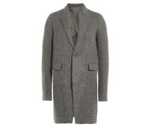 Mantel aus Schurwolle und Mohair