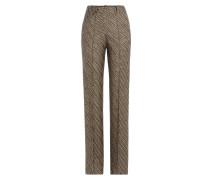 Wide-Leg-Pants aus Strick
