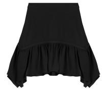 Flared-Skirt aus Jersey mit Rüschen
