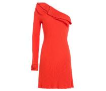 One-Shoulder-Kleid mit Volants