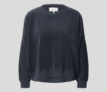 Pullover aus Frottee
